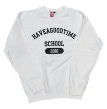 <img class='new_mark_img1' src='http://shop.have-a-goodtime.com/img/new/icons11.gif' style='border:none;display:inline;margin:0px;padding:0px;width:auto;' />haveagoodtime SCHOOL CREWNECK WHITE