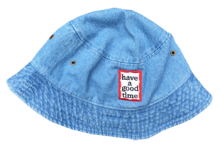 <img class='new_mark_img1' src='http://shop.have-a-goodtime.com/img/new/icons5.gif' style='border:none;display:inline;margin:0px;padding:0px;width:auto;' />haveagoodtime frame hat  sky denim