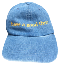 <img class='new_mark_img1' src='http://shop.have-a-goodtime.com/img/new/icons5.gif' style='border:none;display:inline;margin:0px;padding:0px;width:auto;' />haveagoodtime side logo cap sky denim