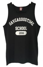 <img class='new_mark_img1' src='http://shop.have-a-goodtime.com/img/new/icons9.gif' style='border:none;display:inline;margin:0px;padding:0px;width:auto;' />haveagoodtime SCHOOL tanktop BLACK