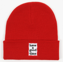 <img class='new_mark_img1' src='//img.shop-pro.jp/img/new/icons15.gif' style='border:none;display:inline;margin:0px;padding:0px;width:auto;' />haveagoodtime frame beanie red