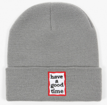 <img class='new_mark_img1' src='//img.shop-pro.jp/img/new/icons15.gif' style='border:none;display:inline;margin:0px;padding:0px;width:auto;' />haveagoodtime frame beanie grey
