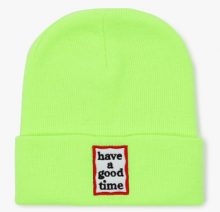 <img class='new_mark_img1' src='//img.shop-pro.jp/img/new/icons15.gif' style='border:none;display:inline;margin:0px;padding:0px;width:auto;' />haveagoodtime frame beanie neon