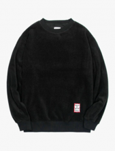 <img class='new_mark_img1' src='//img.shop-pro.jp/img/new/icons14.gif' style='border:none;display:inline;margin:0px;padding:0px;width:auto;' />haveagoodtime fleece crew neck black