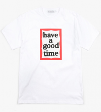 <img class='new_mark_img1' src='//img.shop-pro.jp/img/new/icons14.gif' style='border:none;display:inline;margin:0px;padding:0px;width:auto;' />haveagoodtime mid frame tee white