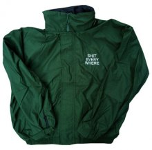 <img class='new_mark_img1' src='//img.shop-pro.jp/img/new/icons8.gif' style='border:none;display:inline;margin:0px;padding:0px;width:auto;' />SHIT EVERY WHERE HOOD jacket green