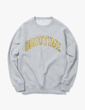 haveagoodtime GOODTIME COLLEGE CREWNECK HEATHER