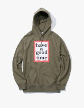 haveagoodtime 2017SS FRAME PULLOVER HOODIE OLIVE