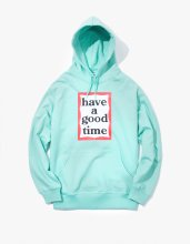 <img class='new_mark_img1' src='//img.shop-pro.jp/img/new/icons53.gif' style='border:none;display:inline;margin:0px;padding:0px;width:auto;' />haveagoodtime 2017SS FRAME PULLOVER HOODIE AQUA