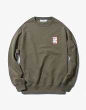 <img class='new_mark_img1' src='//img.shop-pro.jp/img/new/icons15.gif' style='border:none;display:inline;margin:0px;padding:0px;width:auto;' />2017SS MINI FRAME CREWNECK OLIVE