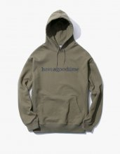 <img class='new_mark_img1' src='//img.shop-pro.jp/img/new/icons15.gif' style='border:none;display:inline;margin:0px;padding:0px;width:auto;' />2017SS SIDELOGO PULLOVER HOODIE OLIVE