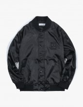 <img class='new_mark_img1' src='//img.shop-pro.jp/img/new/icons15.gif' style='border:none;display:inline;margin:0px;padding:0px;width:auto;' />2017SS SATIN RAGLAN JACKET BLACK