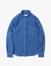 <img class='new_mark_img1' src='//img.shop-pro.jp/img/new/icons15.gif' style='border:none;display:inline;margin:0px;padding:0px;width:auto;' />2017SS haveagodtime DENIM SHIRTS