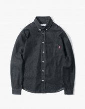 <img class='new_mark_img1' src='//img.shop-pro.jp/img/new/icons15.gif' style='border:none;display:inline;margin:0px;padding:0px;width:auto;' />2017SS haveagodtime BLACK DENIM SHIRTS