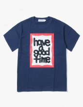 <img class='new_mark_img1' src='//img.shop-pro.jp/img/new/icons15.gif' style='border:none;display:inline;margin:0px;padding:0px;width:auto;' />2017SS FAT FRAME S/S TEE NAVY