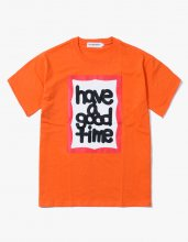 <img class='new_mark_img1' src='//img.shop-pro.jp/img/new/icons15.gif' style='border:none;display:inline;margin:0px;padding:0px;width:auto;' />2017SS FAT FRAME S/S TEE ORANGE