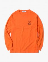 <img class='new_mark_img1' src='//img.shop-pro.jp/img/new/icons15.gif' style='border:none;display:inline;margin:0px;padding:0px;width:auto;' />2017SS LOGO L/S TEE ORANGE