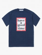 <img class='new_mark_img1' src='//img.shop-pro.jp/img/new/icons15.gif' style='border:none;display:inline;margin:0px;padding:0px;width:auto;' />haveagoodtime mid frame tee  NAVY