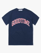 GOODTIME COLLEGE S/S TEE NAVY