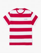 <img class='new_mark_img1' src='//img.shop-pro.jp/img/new/icons15.gif' style='border:none;display:inline;margin:0px;padding:0px;width:auto;' />2017SS STRIPE S/S TEE RED