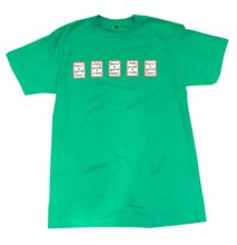<img class='new_mark_img1' src='//img.shop-pro.jp/img/new/icons15.gif' style='border:none;display:inline;margin:0px;padding:0px;width:auto;' />2017SS haveagoodtime  CASINO TEE GREEN   (TOKYO LIMITED)