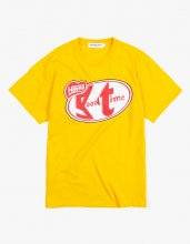 HAVE A BREAK S/S TEE MUSTARD