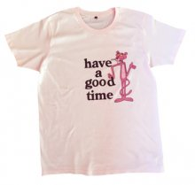 <img class='new_mark_img1' src='//img.shop-pro.jp/img/new/icons15.gif' style='border:none;display:inline;margin:0px;padding:0px;width:auto;' />Pinkpanther×haveagoodtime  S/S TEE   LIGHT PINK