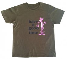 <img class='new_mark_img1' src='//img.shop-pro.jp/img/new/icons15.gif' style='border:none;display:inline;margin:0px;padding:0px;width:auto;' />Pinkpanther×haveagoodtime  S/S TEE   OLIVE