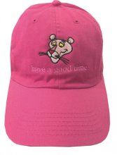 PINK PANTHER X have a goodtime CAP PINK