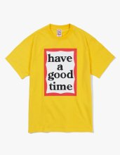 BIG FRAME S/S TEE YELLOW