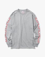 <img class='new_mark_img1' src='//img.shop-pro.jp/img/new/icons14.gif' style='border:none;display:inline;margin:0px;padding:0px;width:auto;' />2017FW arm frame l/s tee Grey