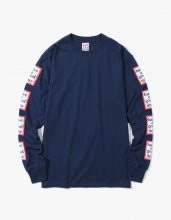 <img class='new_mark_img1' src='//img.shop-pro.jp/img/new/icons14.gif' style='border:none;display:inline;margin:0px;padding:0px;width:auto;' />2017FW arm frame l/s tee Navy