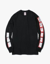 ANIMATION FRAME L/S TEE BLACK