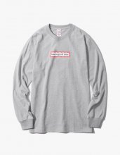 SIDE FRAME  L/S TEE GREY