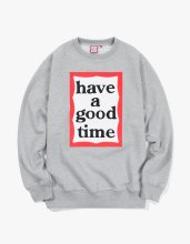 <img class='new_mark_img1' src='//img.shop-pro.jp/img/new/icons14.gif' style='border:none;display:inline;margin:0px;padding:0px;width:auto;' />2017FW frame crewneck Grey