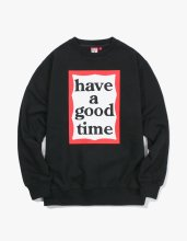 <img class='new_mark_img1' src='//img.shop-pro.jp/img/new/icons14.gif' style='border:none;display:inline;margin:0px;padding:0px;width:auto;' />2017FW frame crewneck Black