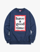 <img class='new_mark_img1' src='//img.shop-pro.jp/img/new/icons14.gif' style='border:none;display:inline;margin:0px;padding:0px;width:auto;' />2017FW frame crewneck Navy
