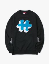 <img class='new_mark_img1' src='//img.shop-pro.jp/img/new/icons14.gif' style='border:none;display:inline;margin:0px;padding:0px;width:auto;' />2017FW puzzle crewneck Black