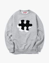 <img class='new_mark_img1' src='//img.shop-pro.jp/img/new/icons14.gif' style='border:none;display:inline;margin:0px;padding:0px;width:auto;' />2017FW puzzle crewneck Grey