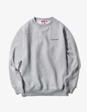 <img class='new_mark_img1' src='//img.shop-pro.jp/img/new/icons14.gif' style='border:none;display:inline;margin:0px;padding:0px;width:auto;' />2017FW side logo crewneck Grey