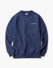 <img class='new_mark_img1' src='//img.shop-pro.jp/img/new/icons14.gif' style='border:none;display:inline;margin:0px;padding:0px;width:auto;' />2017FW side logo crewneck Navy