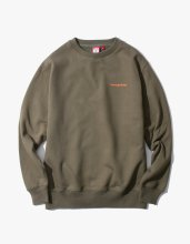 <img class='new_mark_img1' src='//img.shop-pro.jp/img/new/icons14.gif' style='border:none;display:inline;margin:0px;padding:0px;width:auto;' />2017FW side logo crewneck Olive