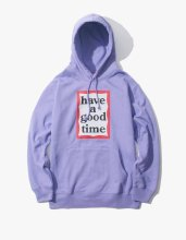 <img class='new_mark_img1' src='//img.shop-pro.jp/img/new/icons14.gif' style='border:none;display:inline;margin:0px;padding:0px;width:auto;' />2017FW haveagoodtime frame pullover hoodie Lavender