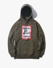 <img class='new_mark_img1' src='//img.shop-pro.jp/img/new/icons14.gif' style='border:none;display:inline;margin:0px;padding:0px;width:auto;' />2017FW haveagoodtime frame pullover hoodie Olive