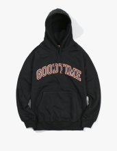 <img class='new_mark_img1' src='//img.shop-pro.jp/img/new/icons14.gif' style='border:none;display:inline;margin:0px;padding:0px;width:auto;' />2017FW haveagoodtime college logo pullover hoodie Black