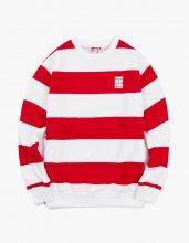 <img class='new_mark_img1' src='//img.shop-pro.jp/img/new/icons14.gif' style='border:none;display:inline;margin:0px;padding:0px;width:auto;' />2017FW stripe crewneck Red/White