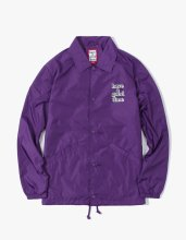 <img class='new_mark_img1' src='//img.shop-pro.jp/img/new/icons14.gif' style='border:none;display:inline;margin:0px;padding:0px;width:auto;' />2017FW 3D logo coach jacket Purple