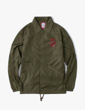 <img class='new_mark_img1' src='//img.shop-pro.jp/img/new/icons14.gif' style='border:none;display:inline;margin:0px;padding:0px;width:auto;' />2017FW 3D logo coach jacket Olive