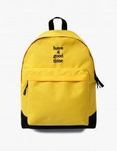 logo backpack Yellow
