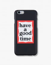 <img class='new_mark_img1' src='//img.shop-pro.jp/img/new/icons14.gif' style='border:none;display:inline;margin:0px;padding:0px;width:auto;' />haveagoodtime frame iphone case  BLACK